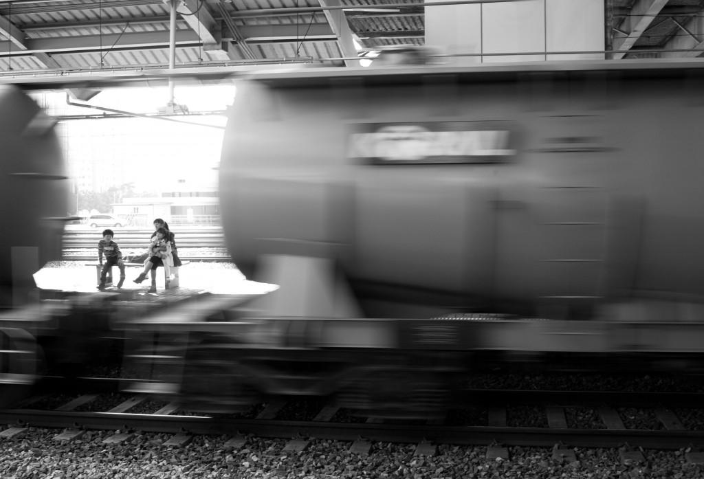 """Headed for Hongseong"" by Neal Singleton."