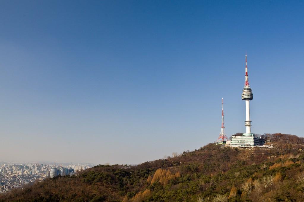 """""""Namsan Tower"""" by Neal Singleton. Taken in Seoul."""