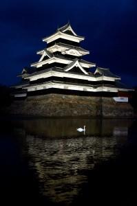 """""""Matsumoto Castle"""" by Helen Li.  Taken in Matsumoto, Japan."""