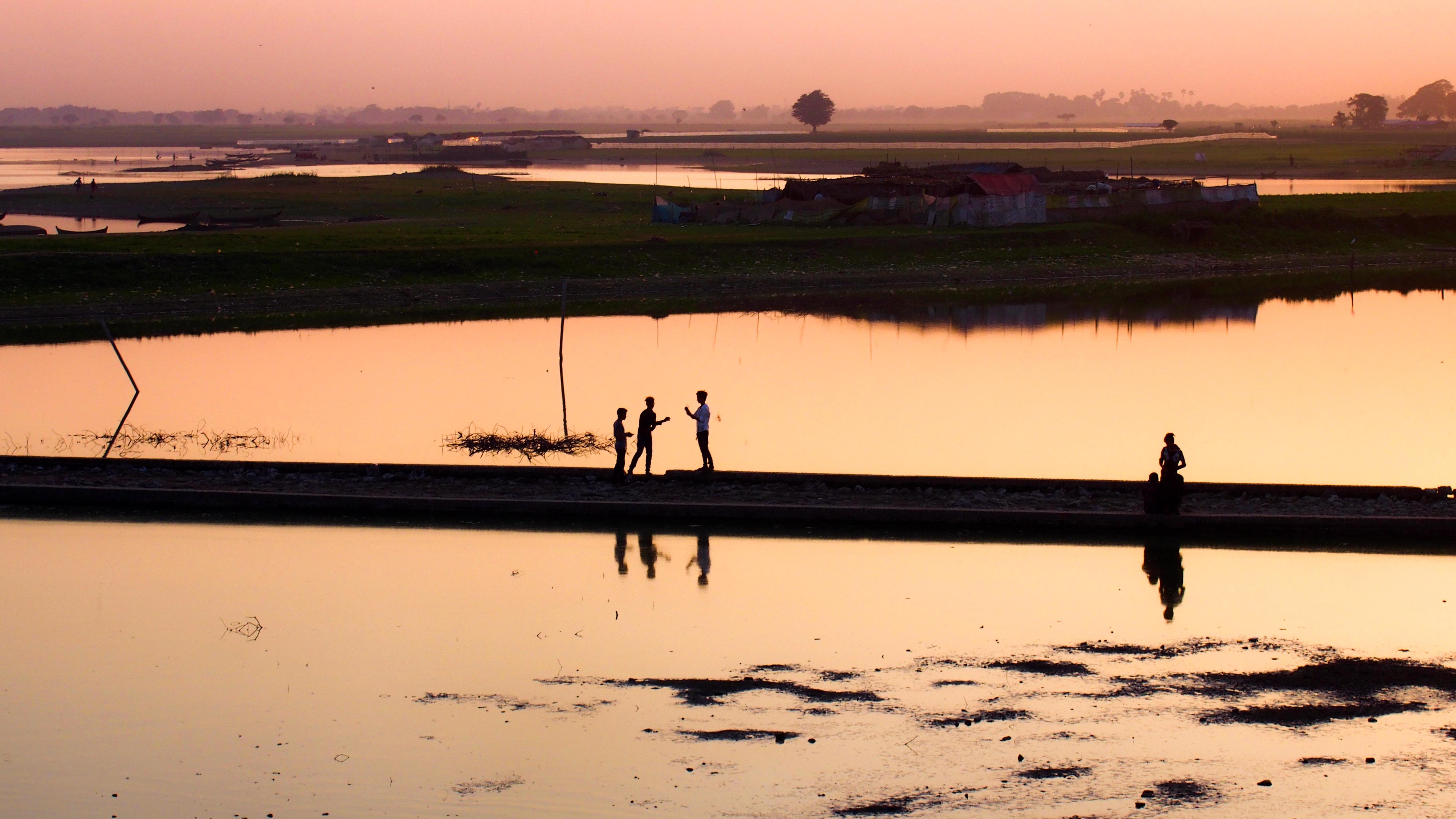 """Tuang Tha Man Lake,"" Rachel Fauth, Myanmar"